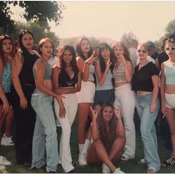 Midnight Pleasure  Brown Authority  and Freakshow Tribe  #LApartyCrews  #SGV #EASTLA 1997/1998 🔊 (photo by @miss_ceejay )