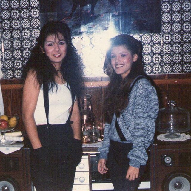 Ceci & Yvonne. 1984 #PicoRivera ( @frank6deuce )