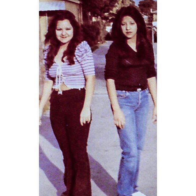 Lisa and Michelle Valdez Rosemead 1984