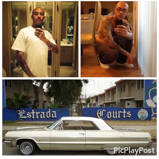 Special dedication to Milton AKA santo #RIPSANTO from #VarrioNuevoEstrada Projects #TLS click #EstradaCourts #BoyleHeights #Califas #EastLA 🌹