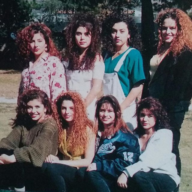 Sylmar high school 1992 (photo: thanks Trina !)