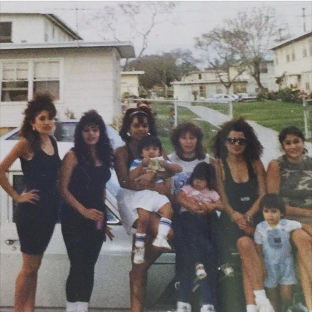 Estrada Courts 1987 #BoyleHeights (photo: @dee_tavira )