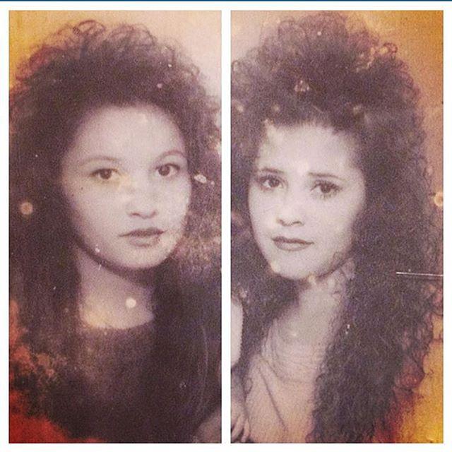 ~1991~ @caragon1980 and her prima #Fbf #SouthernCali