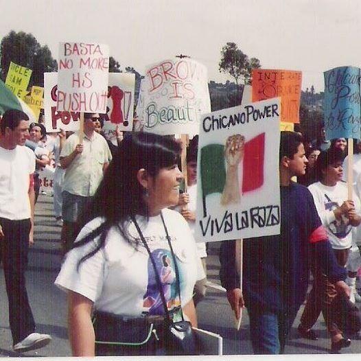Chicano Moratorium ~Viva La Raza~ ✊🏽🇲🇽✊🏽 #EastLos 1990 #ChicanoPower