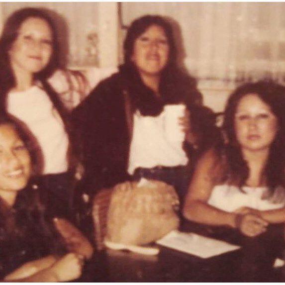 Irma, Rosie, Desiree and Madeline #SANTANA #Delhi♠️ 1980 (photo: @thenames_cryss )