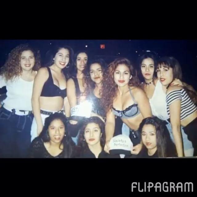 #FlashbackFriday early 90s #SocietysPerfection #PartyCrew 💋🔊 (photo: @tete_49 )
