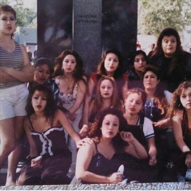 Downtown LA 1995/96 Cinco De Mayo #Dtla (photo: @that_cali_girl_nena )