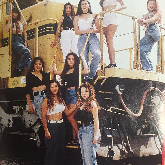 Insatiables (Chicanas of the Month) oct/nov 1993 #StreetbeatMagazine