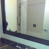 Holiday Inn NEW YORK-SOHO - This is the room @ $350 per night (mid-June 2014 rate) - Bathroom, it has a shower / bathtub combo. - New York, NY, United States
