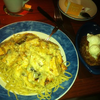 Red Lobster - Chicken with baked potato - Elmhurst, NY, United States