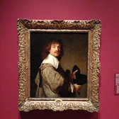 "Hammer Museum - Rembrandt, ""Portrait of a Man Holding a Black Hat"" (ca. 1637) - Los Angeles, CA, United States"