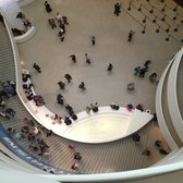 Guggenheim Museum - Looking down - New York, NY, United States