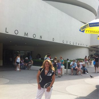 Guggenheim Museum - In front of the Guggenheim-August 2012 - New York, NY, United States