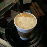 Espresso 77 - Soy Honeybee latte - Jackson Heights, NY, United States