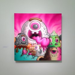 Andrea Rosen Gallery - Buff Monster Exhibit - The Wooster Collective Celebrating 10 Years - New York, NY, United States