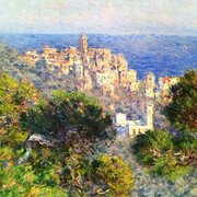 Hammer Museum - View of Bordighera (1884) by Claude Monet - Los Angeles, CA, United States