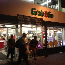 Grab & Go - The store is right on the West 4 subway station. - New York, NY, United States