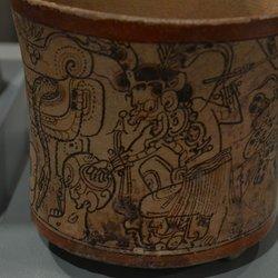Princeton University Art Museum - ceramic, codex style, from Peten, 600-900 - Princeton, NJ, United States